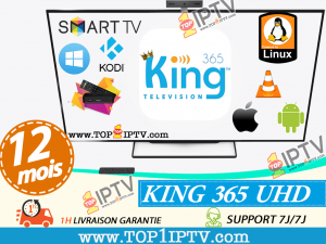 abonnement IPTV KING365 IPTV - www.top1iptv.com