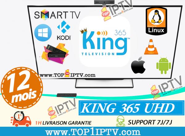 abonnement IPTV KING365 IPTV - www.top1iptv.com