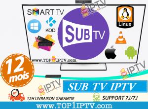 abonnement-IPTV-SUBTV-www.top1iptv.com
