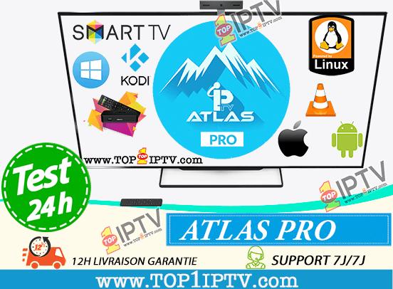 abonnement-IPTV-ATLAS-PRO-Test