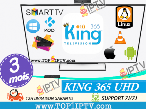 KING365-IPTV- 3 mois -www.top1iptv.com