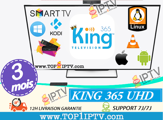 KING365-IPTV- 3 mois -www.top1iptv.com